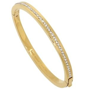 Kate Spade gold ring it up bracelet